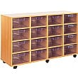 Crystal Clear 16 Deep Tray Storage Unit