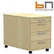 BN Easy Space Mobile Pedestal With Pencil Drawer
