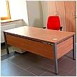 BN Easy Space Height Adjustable Rectangular Desks - Square Legs