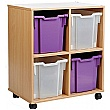 Storage Allsorts 4 Jumbo Tray Unit
