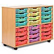 Storage Allsorts 24 Shallow Jelly Tray Unit