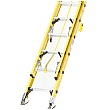 Trade Fibreglass Double Section Ladder