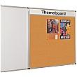 Themeboard Tamperproof Cork Noticeboard