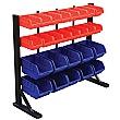 Freestanding Storage Bin Racks