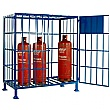 Standing Propane Cylinder Storage Cage