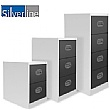 Silverline Two Tone Kontrax Filing Cabinets