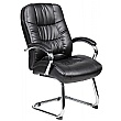 Verona Leather Visitor Chairs