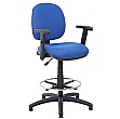 Comfort Fabric Draughtsman Chairs