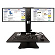 Double Screen Sit-Stand Desk Convertor