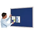 Eco-Friendly Aluminium Effect Frame Noticeboards