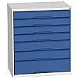Bott Verso Drawer Cabinets - 800mm Wide x 900mm High - 7 Drawers