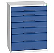 Bott Verso Drawer Cabinets - 800mm Wide x 1000mm High - 7 Drawers
