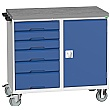 Bott Verso Mobile Maintenance Trolley - Cupboard With 6 Drawers