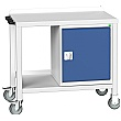 Bott Verso Benches - Mobile Welded Bench With Cupboard