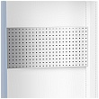 Bott Verso 1050W Cupboard Perforated Backpanel