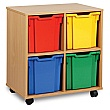 4 Tray Jumbo Storage Unit