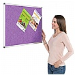 Eco-Colour Aluminium Framed Resist-A-Flame Noticeboards