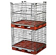 Palletower Stackable Retention Units - Four Way Access