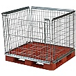 Palletower Stackable Retention Units - One Way Access