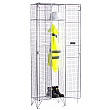 Personal Effects Wire Mesh Lockers