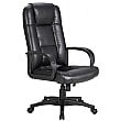 Siento Leather Faced Manager Chair