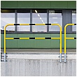 TRAFFIC-LINE Medium Duty Wall Fixed Steel Hoop Guards