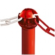 TRAFFIC-LINE Chain Barrier High Visibility Posts