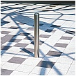 Chichester Removable Stainless Steel Bollards - Cylinder Lock