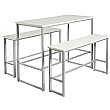 Unite Dining Table and Bench Set