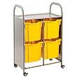 Gratnells Callero 4 Jumbo Tray 2 Column Storage Unit