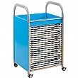Gratnells Callero Art Storage Trolley With Drying Racks