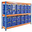 BiG400 Archive Storage Racking With 35 Litre Really Useful Boxes