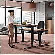 NEXT DAY Karbon Electric Height Adjustable Sit-Stand Desk