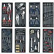 Sealey 14 Drawer Tool Chest Combination with 1179pc Premier Tool Kit