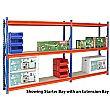 Longspan Heavy Duty Shelving 3050H with 3 Shelves