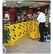 Rubbermaid Mobile Barricade System