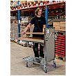 Konga Adjustable Self-Levelling Stock Trolley