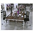NEXT DAY Velocity Bench System Quad Desk Unit