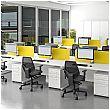 Alpha Plus Rectangular Desk