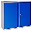 Phoenix SCL Series Steel Storage Cupboards - 2 Door 1 Shelf With Key Lock