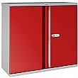 Phoenix SCL Series Steel Storage Cupboards - 2 Door 1 Shelf With Electronic Lock