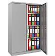 Phoenix SCL Series Steel Storage Cupboards - 2 Door 3 Shelf With Electronic Lock