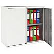 Phoenix SC Series Steel Storage Cupboards - 2 Door 1 Shelf With Key Lock