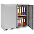 Phoenix SC Series Steel Storage Cupboards - 2 Door Cupboard 1 Shelf With Electronic Lock