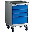 Redditek Small Mobile Drawer Cabinet
