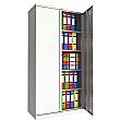 Phoenix SC Series Steel Storage Cupboards - 2 Door 4 Shelf With Electronic Lock