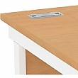 Alpha Plus Panel End Ergonomic Desk
