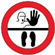 Safe Distance Floor Markers for Social Distancing Kit F - Illustration: STOP Keep Your Distance