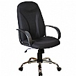 Perth Chrome Ergo Fabric Manager Chairs