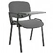 Swift Black Frame Conference Chair With Tablet